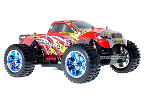 Himoto Brushless Truck Red Bull 2.4GHz AANBIEDING!